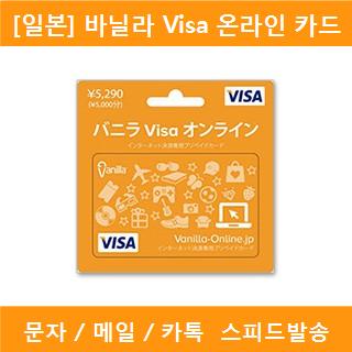 바닐라 Visa 온라인 카드
